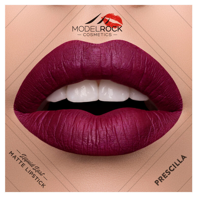 Model Rock - Liquid to Matte Longwear Lipstick **PRESCILLA**