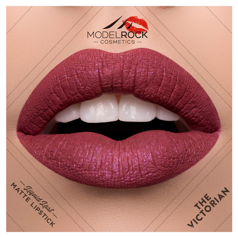 Model Rock - Liquid to Matte Longwear Lipstick **THE VICTORIAN**