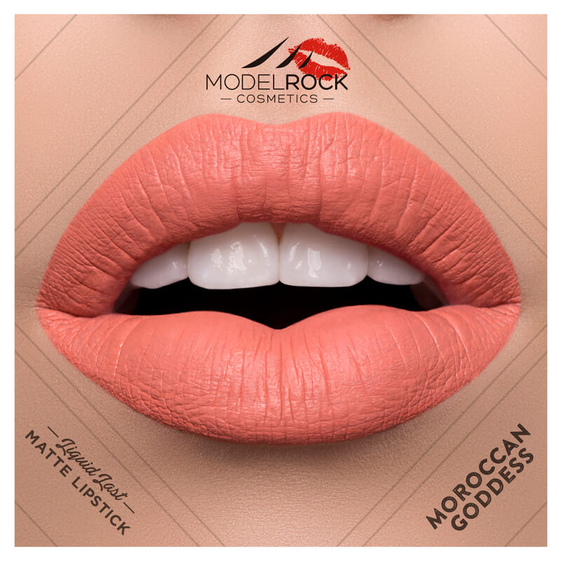 Model Rock - Liquid to Matte Longwear Lipstick **MOROCCAN GODDESS**