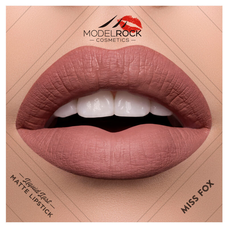 Model Rock - Liquid to Matte Longwear Lipstick **MISS FOX**