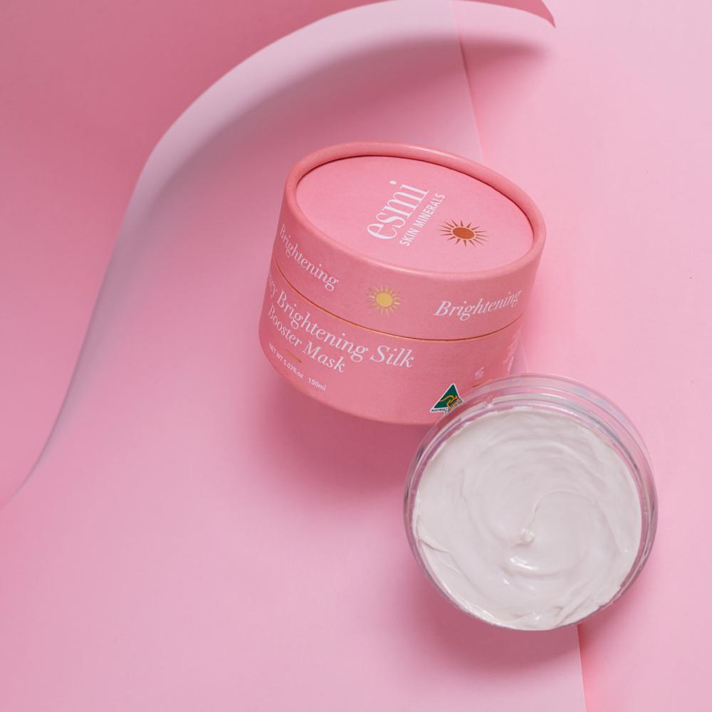 Esmi Bouncy Brightening Silky Booster Mask