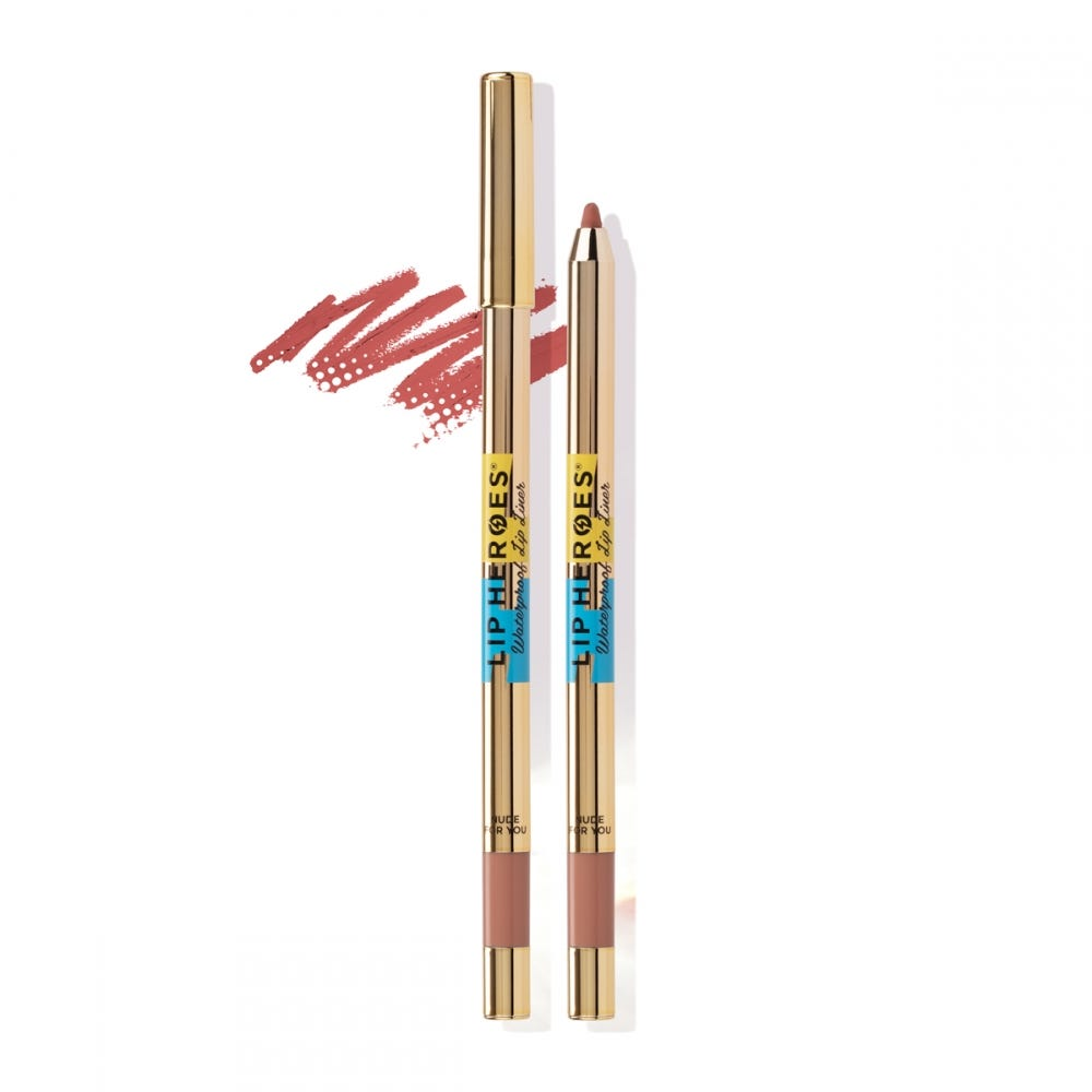 Lip Heroes Waterproof Lip Liner - Nude for you