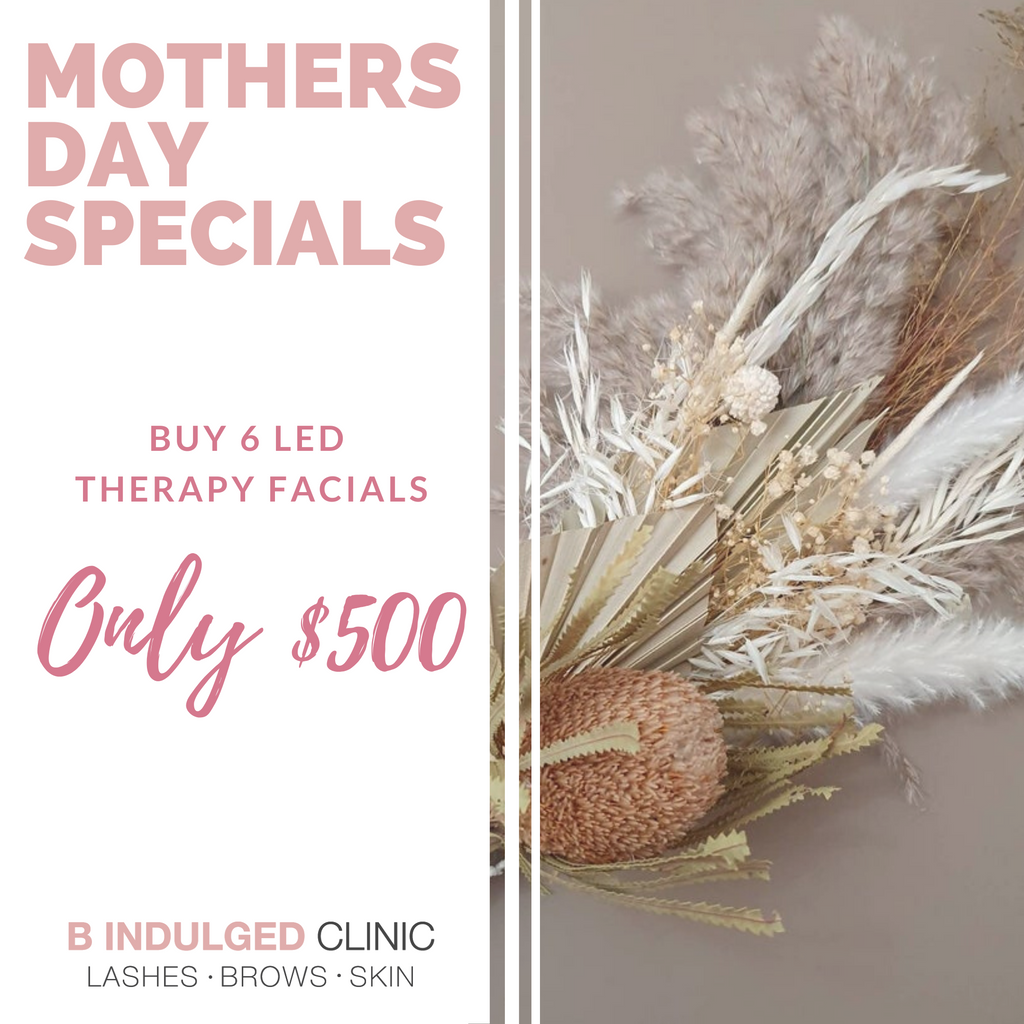 Mothers Day Special - 6 LED Therapy Facials