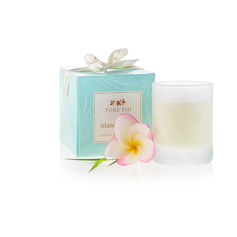 Pure Fiji - Island Candle - White Gingerlily Infusion 90ml