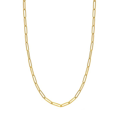 KIKICHIC Gold Oval Link Choker Necklace, Silver Medium Thin Link Chain Choker Necklace, Rose Gold Rectangle Link Chain Necklace 14k Gold, Silver Simple Paper Clip Link Chain Choker Necklace, Thin Flat Link Chain Rose Gold Choker Necklace, Fine Rectangle 14k Gold Filled Choker Necklace.