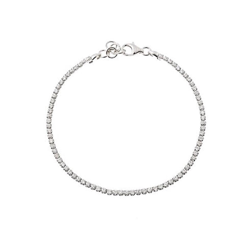 KIKICHIC Diamond White Gold Bracelet, Cubic Zirconia Tennis Bracelet Sterling Silver, Yellow Gold Tennis Bracelet, Diamond Tennis Bracelet, Diamond Collar Bracelet, Dainty Diamond Bracelet, Thin Tennis Bracelet Silver, Diamond Cut Tennis Bracelet.