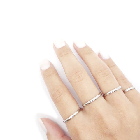 Silver Stacker Ring Simple, Silver Stacking Ring, Silver Midi Rings Stacking, Silver Pinky Ring Stacks, Simple Stacking Ring in Silver, Thin Stackable Ring Silver, Classic Fine Stacking Band Ring Silver, Dainty Boho Stacking Ring, Silver Filled Stacking Rings, Solid Silver Pinky Ring Dainty, Silver Stackable Rings, Simple Band Stackable Silver Rings.