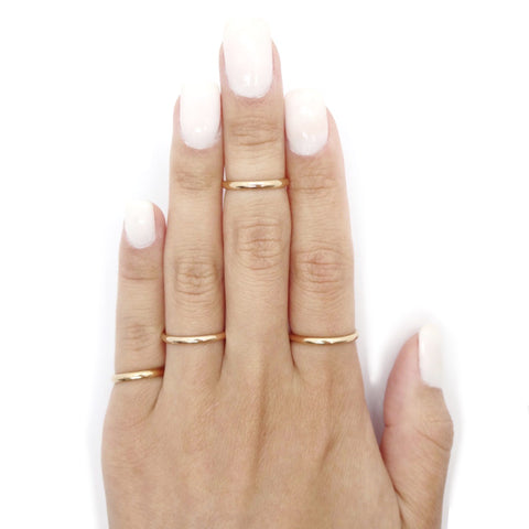 KIKICHIC Rose Gold Stacker Ring Simple, Rose Gold Stacking Ring, Rose Gold Midi Rings Stacking, Rose Gold Pinky Ring Stacks, Simple Stacking Ring in Rose Gold, Thin Stackable Ring Rose Gold, Classic Fine Stacking Band Ring Rose Gold, Dainty Boho Stacking Ring, Rose Gold Filled Stacking Rings, Rose Gold Pinky Ring Dainty, Rose Gold Stackable Rings, Simple Band Stackable Rose Gold Rings.