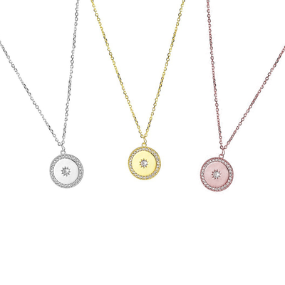 KIKICHIC CZ Starburst Disc Coin Necklace Sterling Silver (925) 18K Gold Starburst Coin Necklace, Minimalist Starburst Disc Dainty Necklace Silver, Medallion Starburst Rose Gold Necklace, 18k Gold Starburst Necklace Medallion, Stars Coin Necklace Gold, Medallion Stars Necklace.