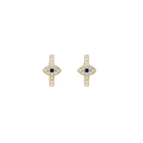 KIKICHIC 14k Gold Evil Eye Huggies Hoops Earrings Everyday, Mini Eyes Blue Huggies Earrings Gold, CZ Pave Eyes Huggies Hoops Earrings, Gold Fill Turkish Eye Huggies Hoops Tiny Earrings Silver, Tiny Huggies Earrings Gold, Silver Sleeper Hoops Earrings.