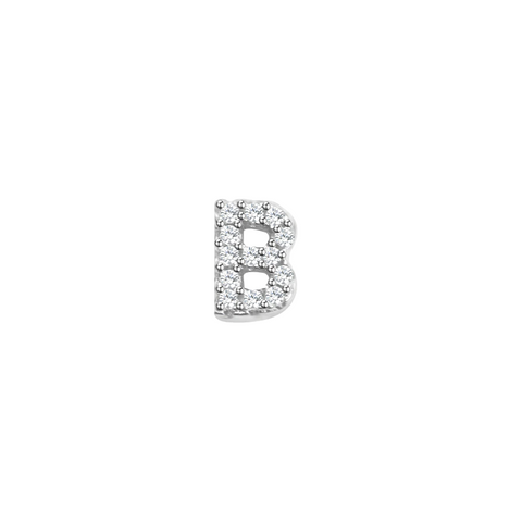 Letter B Stud Earrings