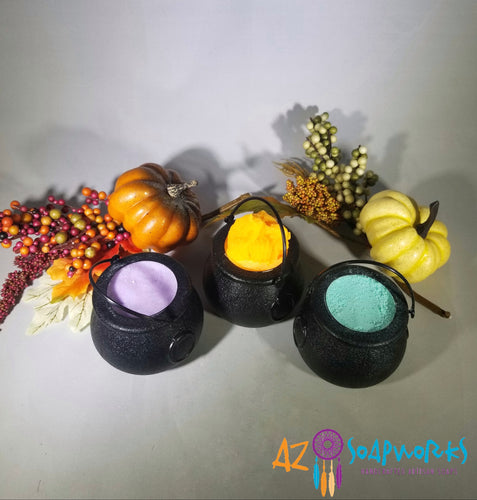 Halloween Cauldron Bath Bombs