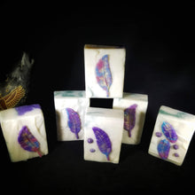 Purple Feather  | Artisan Soap
