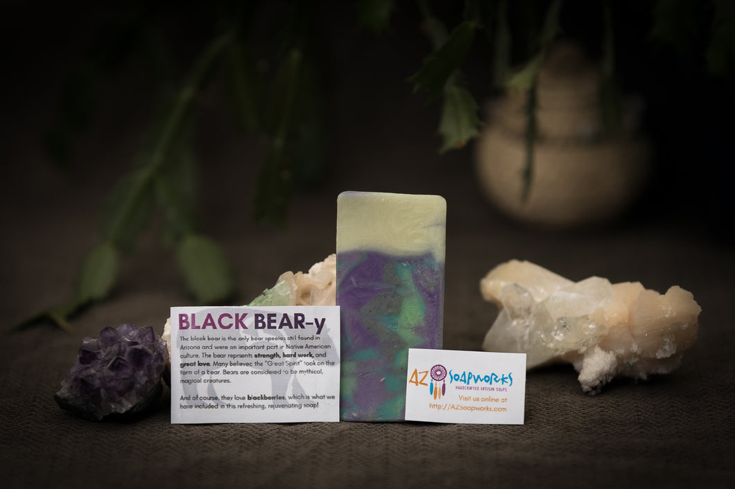 Black Bear(y)  | Artisan Soap