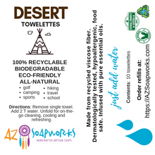 Essential Oil Infused Towelettes