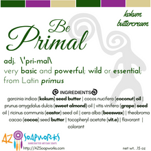 Primal Lip Balm (Buttercream)