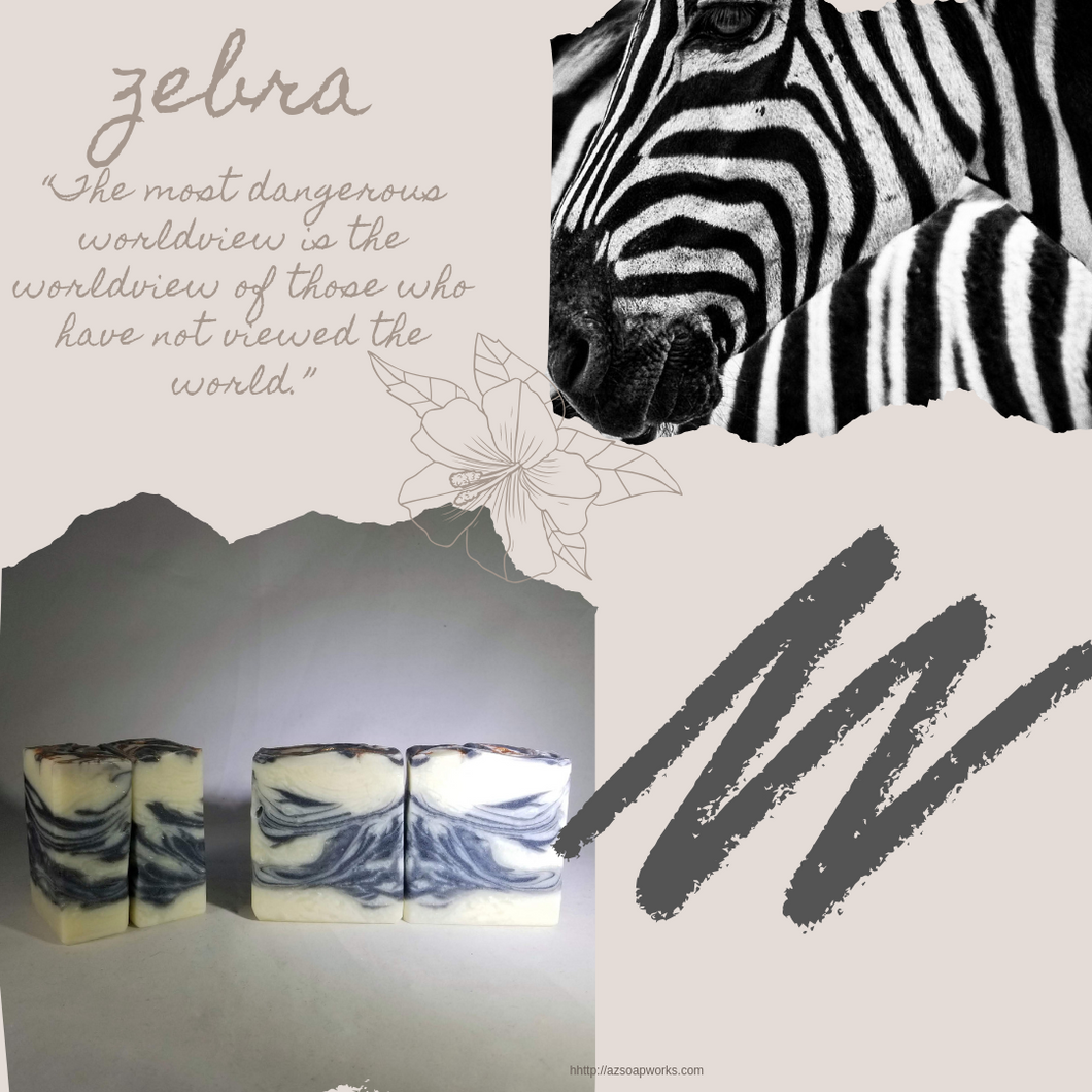SW Safari | Zebra | Artisan Soap