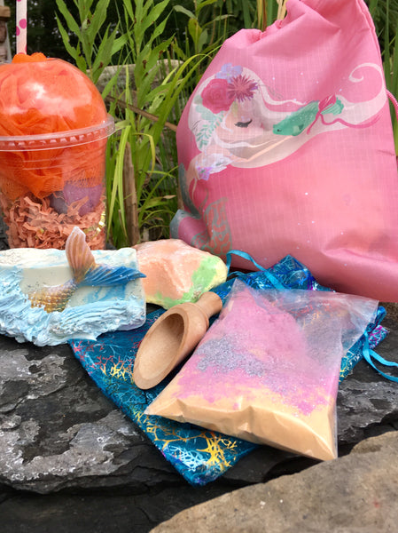 Mermaid Spa Gift Bag