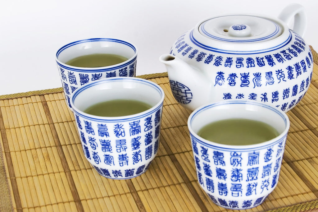 Green tea is good for you. The Tea Time Shop.