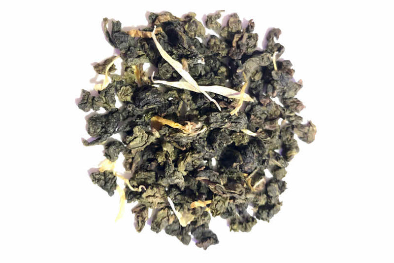 Passionfruit Oolong Green Tea. The Tea Time Shop