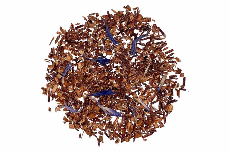 Blue Flower Rooibos Tea. The Tea Time Shop
