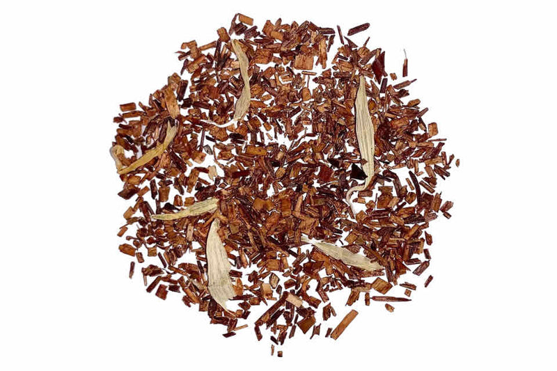 Organic Peach Rooibos Tea. The Tea Time Shop