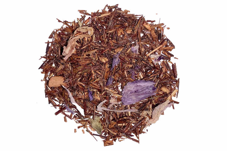 Plum Rooibos Tea. The Tea Time Shop