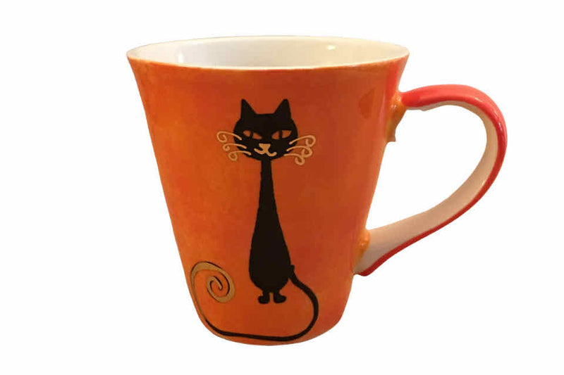 Mischievous Orange Cat - The Tea Time Shop