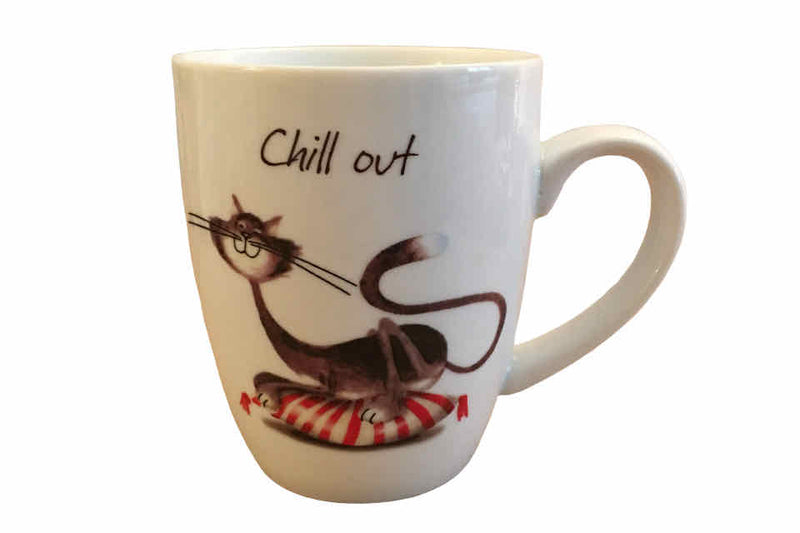 Chill Cat - The Tea Time Shop