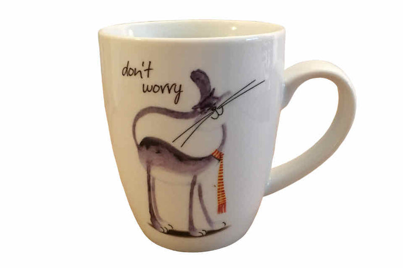 Don't Worry Cat - The Tea Time Shop