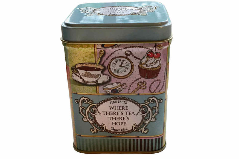"There's ""Hope"" Tea Storage Canister - The Tea Time Shop"