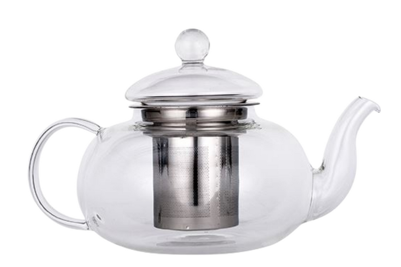 Glass Teapot. The Tea Time Shop