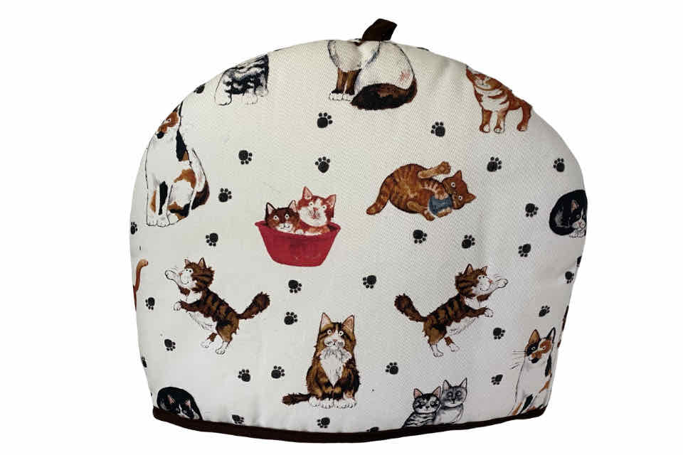 Tea Cozy - Cat Lover. The Tea Time Shop