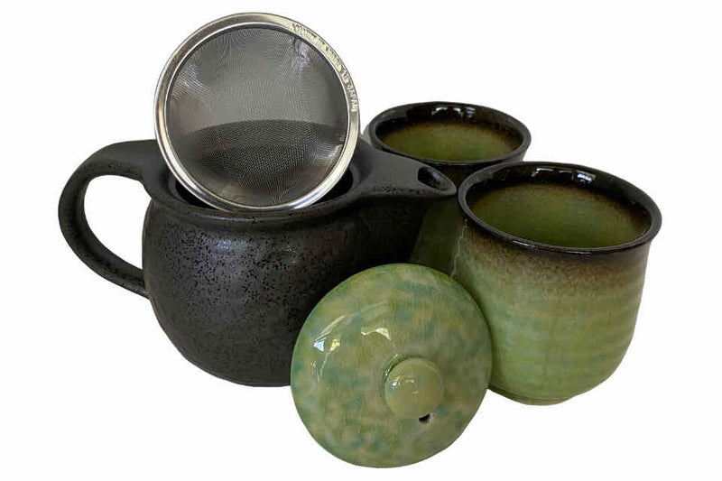 Emerald Tea Set. The Tea Time Shop