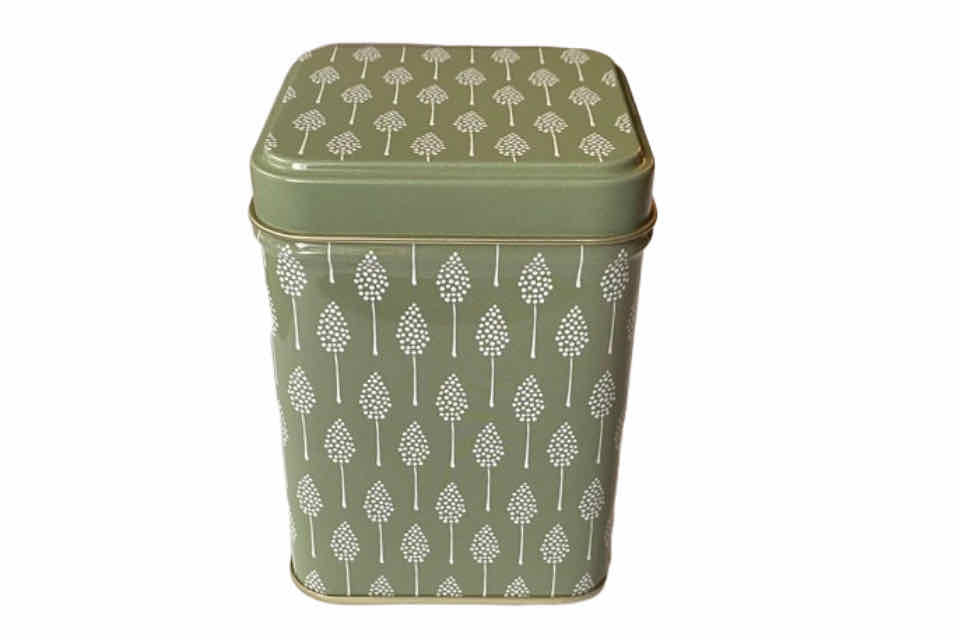 Tea Canister - SAGE. The Tea Time Shop
