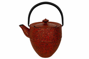 Sunset Cast Iron Teapot. The Tea Time Shop