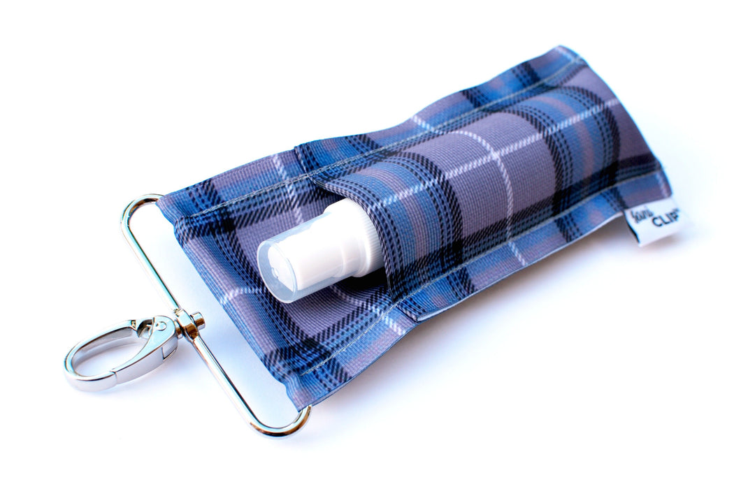 Grey Plaid SaniClip™