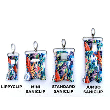 Jurassic LippyClip and SaniClip size guide