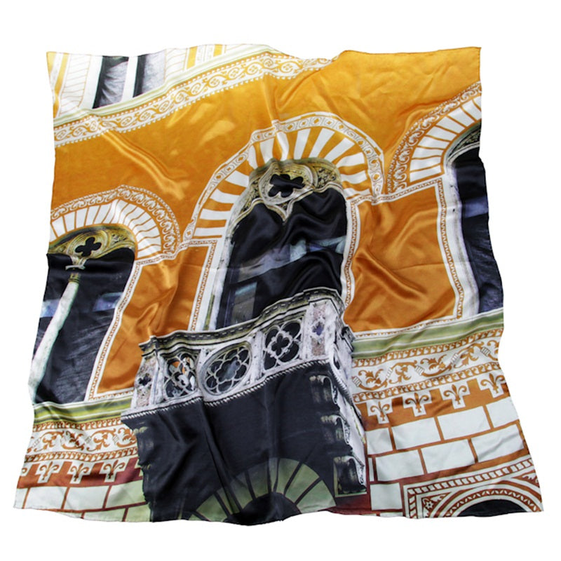 Roman Holiday 100% Silk Scarf