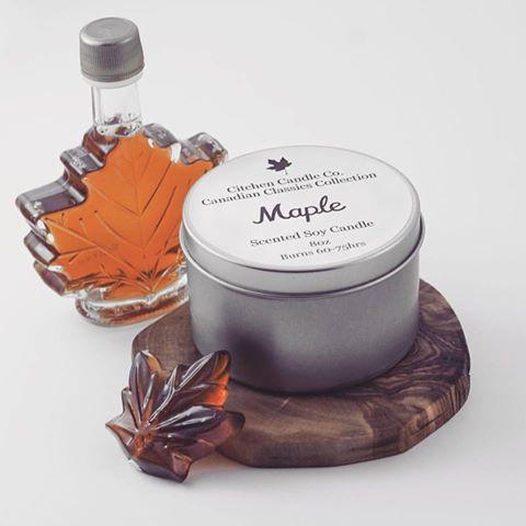 Maple Scented Soy Candle