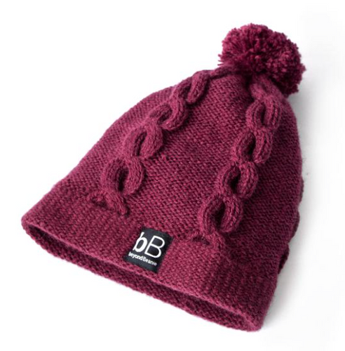 Red Cherry Charm Beanie