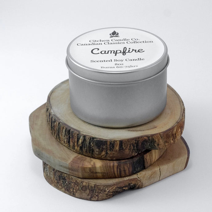 Campfire Scented Soy Candle