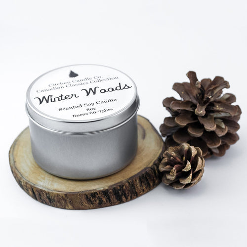 8oz Winter Woods Scented Soy Candle