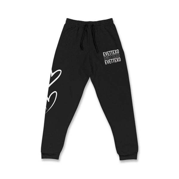 """EVETTEXO SWEATS"" - BLACK"