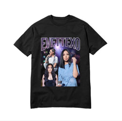 EVETTEXO TEE-PURPLE