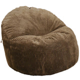 Wallaby Brown Chenille Foam Chair