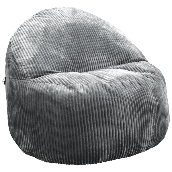 Wallaby Grey Chenille Foam Chair