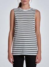 BELLE BODY BASIC TANK - Striped