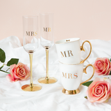 Mr & Mrs Mug Set - Set of 2