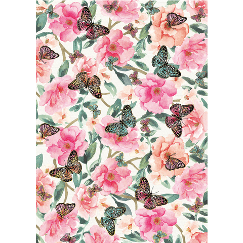 A4 Paper Butterfly Garden - Cristina Re Design
